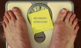 tekrar kilo almamak